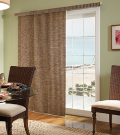 Panel Blinds - Open